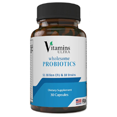 Vitamins Ultra Wholesome Probiotics